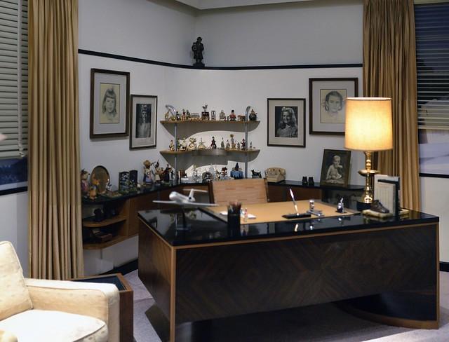 Walt Disney Desk in His Formal Office | Flickr - Photo Sharing!