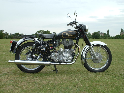 Royal Enfield Bullet 500 Single Cylinder Motorcycle
