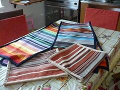 tende e tovagliette: dal telaio alla macchina da cucire
