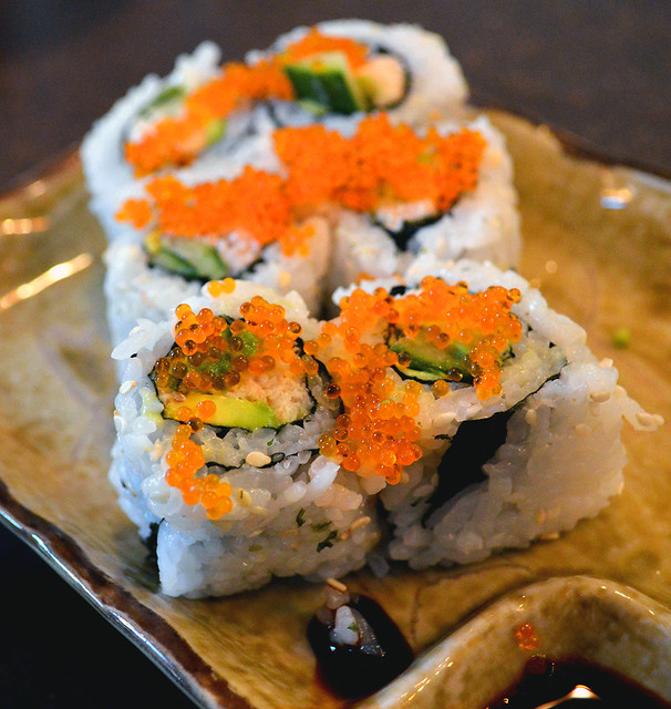 Dungeness Crab California Roll