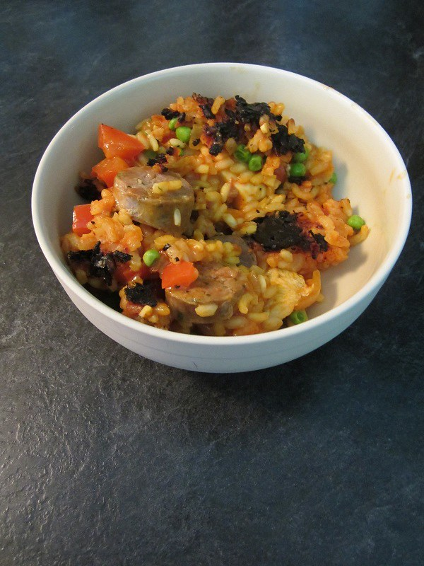 Sausage Chicken Paella