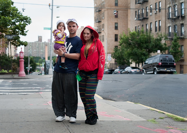 Sarah and family: Hunts Point, Bronx