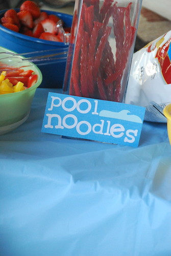 pool licorice noodles