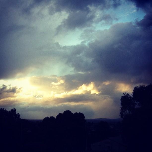 Golden Lining #sky