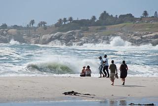Billede af Camps Bay Beach i nærheden af Cape Town. southafrica capetown