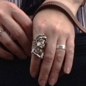 Victorian portrait ring