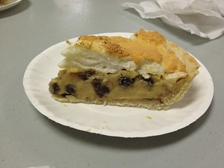 Sour Cream Raisin Pie, St. Olaf's