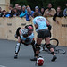 Hell's Belles ladies bike polo tournament by kube414