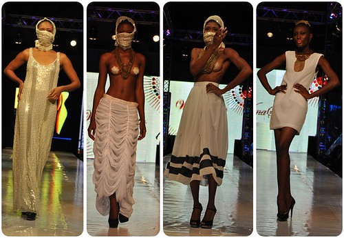 Wana Sambo at Tigo Glitz Africa Fashion Week