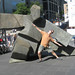 Jack as a sculpture in Montreal by JackVinson