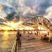 Fishermen at East River by Tony Shi Photos