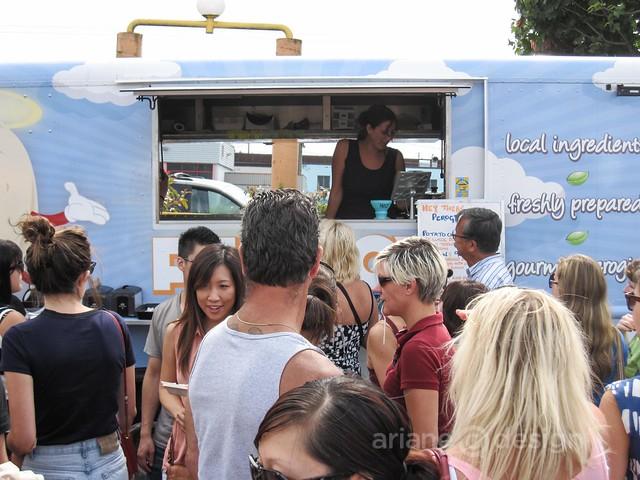 Waldorf Hotel Food Cart Festival/Holy Perogy