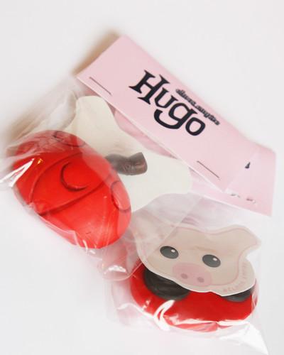 Hugo Fridge Magnet by [rich]