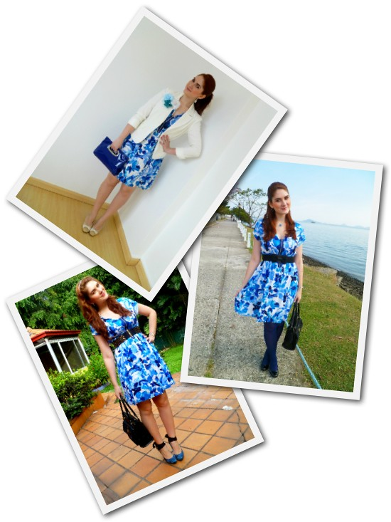 Floral dress Remix by The Joy of Fashion (2)