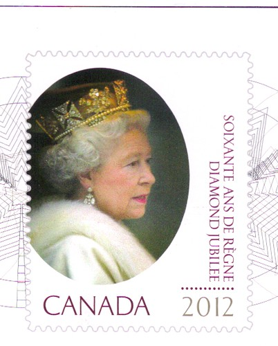 Queen Elizabeth Diamond Jubilee Canada Stamp