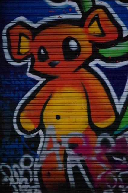 Teddy Bear - Melbourne Street Art