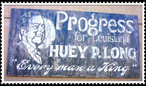 Huey P. Long ~  Poster ~ Covington La ~ Photo 2003