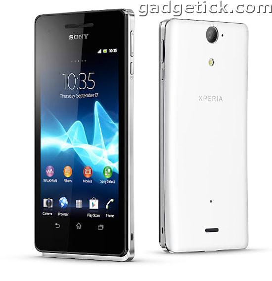 новые смартфоны от Sony - Xperia TX, T, V и J