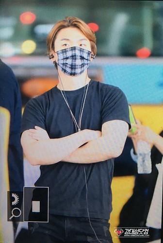 BIGBANG arrival Seoul ICN from Chengdu 2016-07-04 (3)