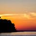 Good Harbor Sunset Silhouette Sky by matthewkaz