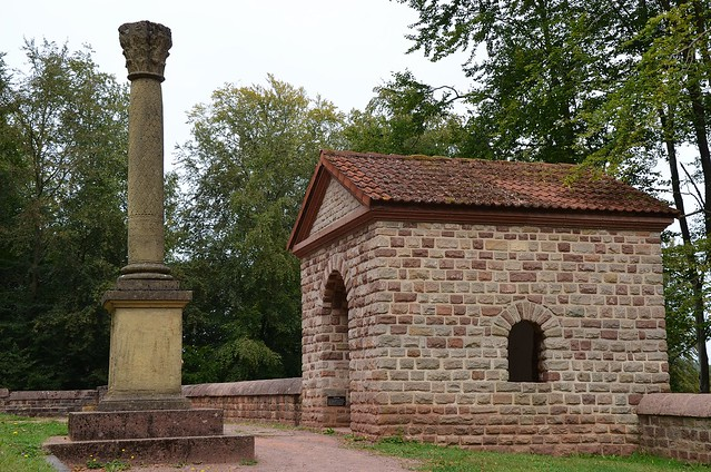 The Tawern Temple Complex, an important Gallo-Roman sanctuary built in the 1st century AD and located above the main road leading to Augusta Treverorum (Trier), Germany