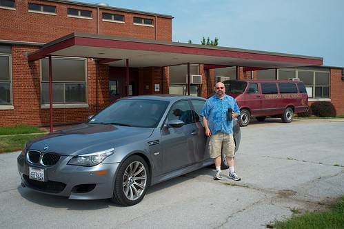 Michael and His BMW M5, June 30, 2012
