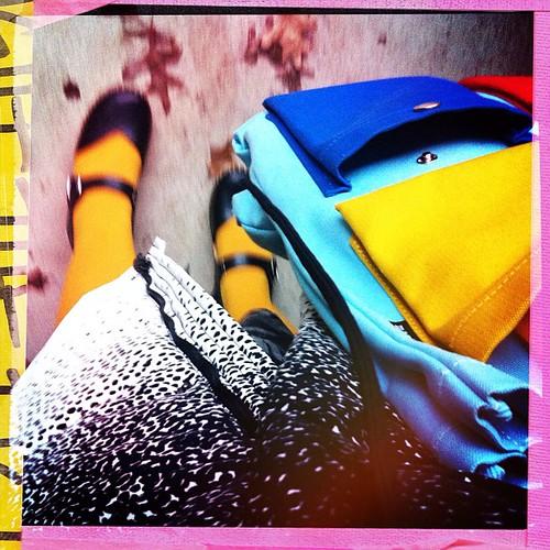 Heading to work... #marimekko