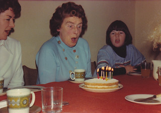 Granny's 70th Birthday, October 1976