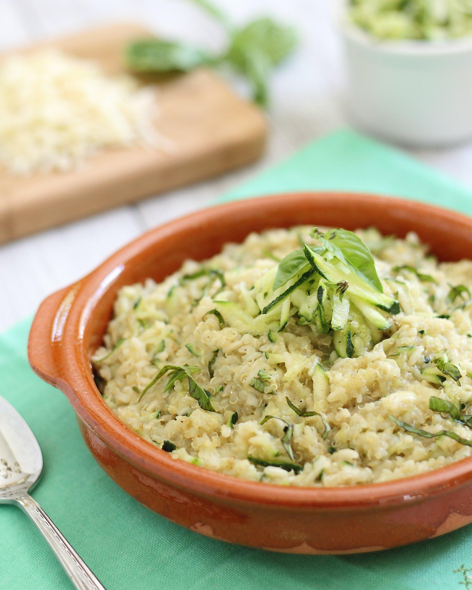 cheesy zucchini quinoa 2 | Flickr - Photo Sharing!