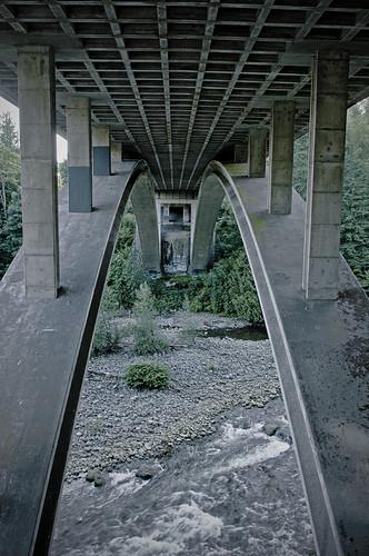 Bridge over Water by petetaylor