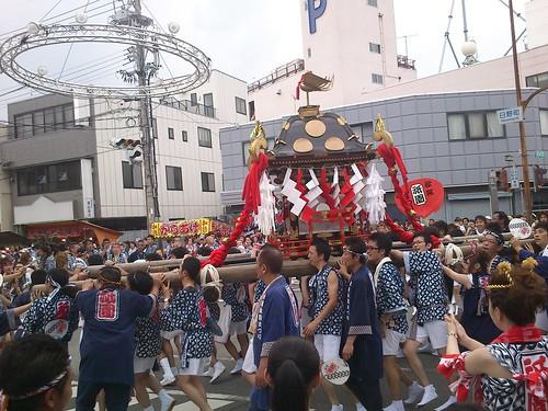 三社みこし(松阪祇園祭)