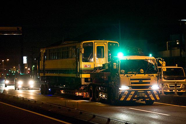 いすみ鉄道 いすみ200型 いすみ203・207 ミャンマー向け陸送