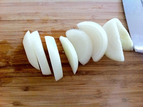 Thickly Sliced Medium Onion