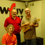 Chris Stamey and Peter Holsapple with Darren DeVivo
