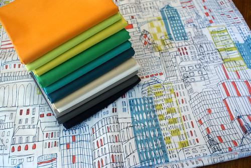 Joe's quilt fabrics