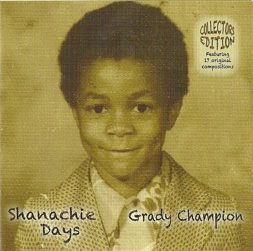 Grady Champion Shanachie Days CD Cover