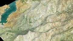 Modelo de elevación digital del terreno - La Loma (Jaen)