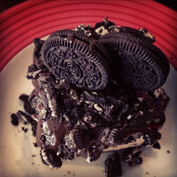 OREO Mudpie for dessert!