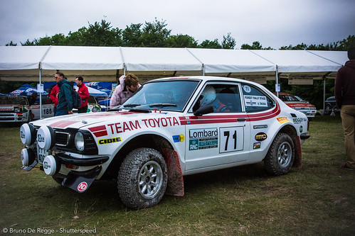 Team Toyota Rally Edition on the 2012 Goodwood Festival of Speed.