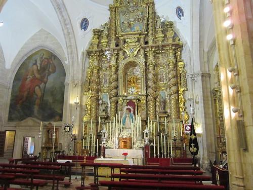 サンタ・マリア・ラ・マヨール教会の祭壇・・・ロンダ旧市街 by Poran111