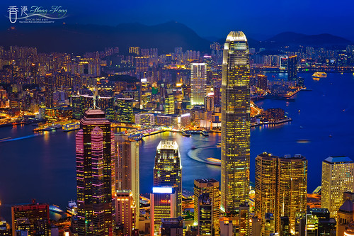 road night image peak victoria hong kong 香港 夜景 太平山 lugard colorphotoaward 盧吉道