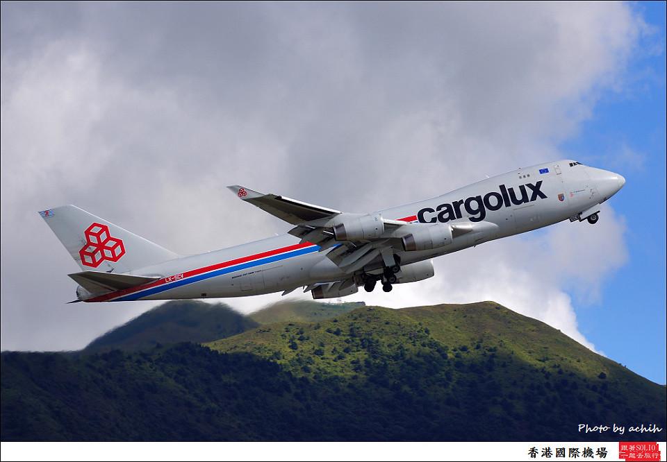Cargolux LX-SCV / Hong Kong International Airport