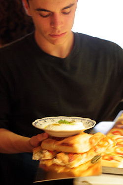 Tel Aviv waiter