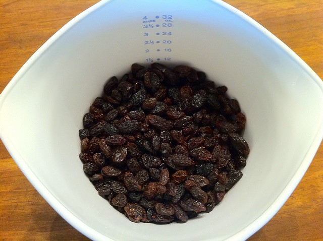 1 1/2 Cups Raisins