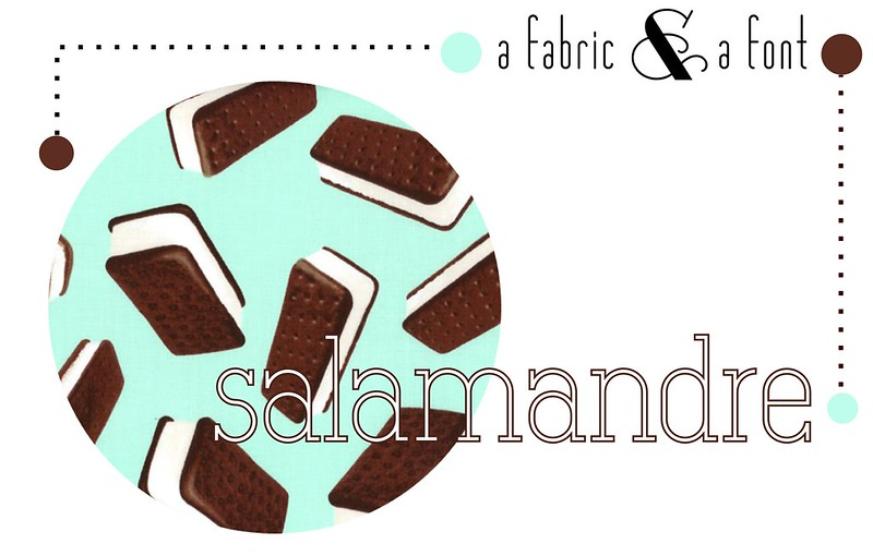 13 - Salamandre and Brain Freeze Ice Cream Sandwich