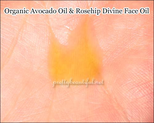 Organic Avocado Oil & Rosehip Divine Face Oil