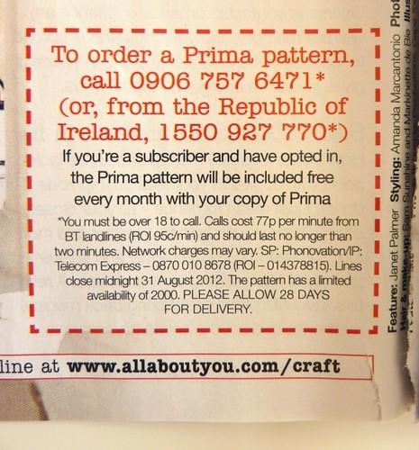 Prima Magazine - Pattern, August 2012 (04)