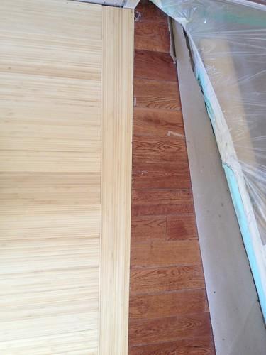 Day 10: new floor meets old
