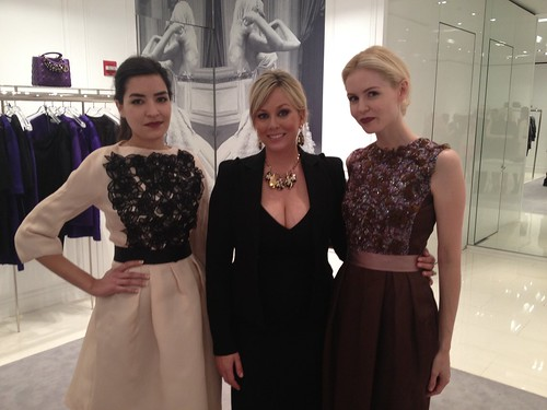 Fall Read-to-wear preview at the Dior Boutique in Chevy Chase