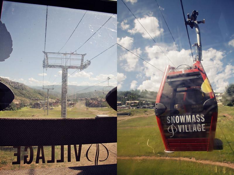 Snowmass Village 14 diptych